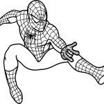 1. Sınıf Boyama Kağıtları Örümcek Adam ve Sünger Bob
