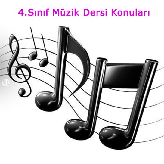 4.Sınıf Müzik Dersi Yazılı Sınavı