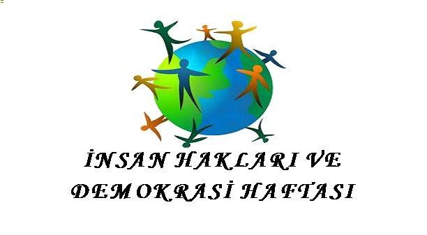 Insan Hakları Ve Demokrasi Haftası Yazı şiir Kutlama Programı