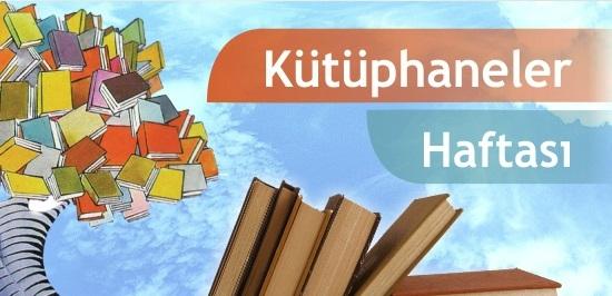 Kütüphaneler Haftası program, etkinlik ve dökümanları