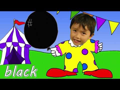 Balon Şarkısı ile Renkleri Öğretme