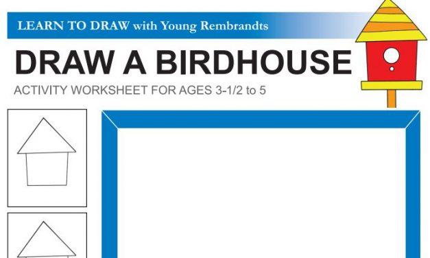 Kuş Evi Çizme Çalışması – Kuş Evi Nasıl Çizilir ?